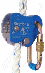 "Tractel ""Stopfor B"" Automatic vertical Rope Guided Fall Prevention Device Suitable for 12-14mm Rope"