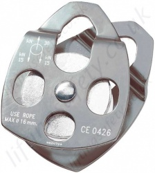 "Tractel Single Sheave ""Standard M""  Pulley - Opening Flanges"