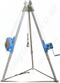 "Tractel ""Tracpode"" Lightweight Aluminium Man-Riding Tripod for Rescue and Fall Arrest Use"