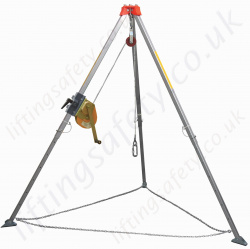 Yale Tripod, Portable & Lightweight Aluminium For Man-riding, Fall Arrest and Rescue Applications