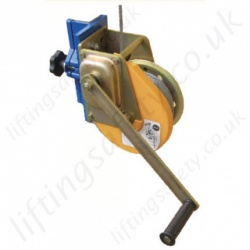 Yale Man Riding Wire Rope Lifting and Rescue Winch - Wire Rope Length 20m or 25m.
