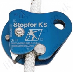 "Tractel Stopfor ""KS"" (Stopfor ""K"" with additional safety) Auto Vertical Rope Fall Arrestor for 10-12mm Rope"