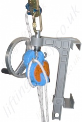 "Tractel ""Derope UP B"" Automatic Rescue Descender to Raise and Lower a Casualty (With handle)"