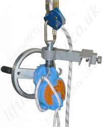 "Tractel ""Derope UP K"" Automatic Rescue Descender to Raise and Lower a Casualty (With handle)"