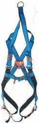 "Tractel ""HT22R"" (Standard Buckles) Fall Arrest Harness With Front and Rear 'D' Rings and Rescue Strap for Vertical Lifting"
