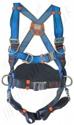 Tractel VertyTrac HT34 BA (Automatic Buckles) Fall Arrest Harness with Front and Rear 'D' Rings and 2 x Chest 'D' Ring S,M,XL