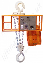 "Tiger ""Sub-sea"" ROV Hand Chain Hoist, Top Hook Suspended, Many Drive Options - 3000kg, 10,000kg or 20,000kg"