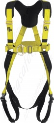 "P+P Safety ""Britannia FRS MK2"" Two Point Fall Arrest Harness with Front and Rear 'D' Rings Quick Release Leg Buckles."