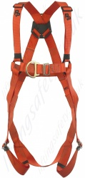 "P+P Safety ""FRS MK2 Flame"" 2 Point Fall Arrest Harness from Flame Retardant Polyester Webbing."