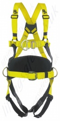 "P+P ""Super MK2"" Fall Arrest Harness with Rear and Front 'D' Rings & Work Positioning Belt"