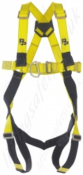 "P+P  ""Omega FRS MK2"" Standard Fall Arrest Harness With Front and Rear 'D' Rings with Standard Release Leg Buckles"
