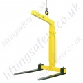Camlok TKG-VHS Self Weight-Balance Crane Forks - Range from 1000kg to 5000kg (4 Options)