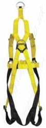Quick Fit Frs Rescue Harness Rear View