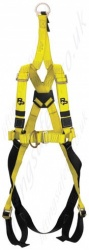 "P+P ""Quick Fit FRS Rescue"" Standard Fall Arrest Harness With Front and Rear 'D' Rings. Additional EN1497 Overhead Anchorage For rescue Only"
