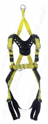 "P+P ""FRS Quick Fit Rescue Bolero"" Premium Fall Arrest Fitted With a Perforated YOKE Harness With Front and Rear 'D' Rings. Additional EN1497 Overhead Anchorage For rescue Only"