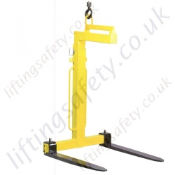 Camlok TKG-VH Manual Balance Crane Forks - Range from 1000kg to 5000kg (4 Options)
