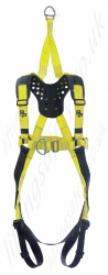 "P+P ""FRS Rescue Bolero"" Premium Fall Arrest Fitted With a Perforated YOKE Harness With Front and Rear 'D' Rings. Additional EN1497 Overhead Anchorage For rescue Only"