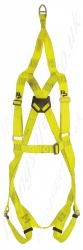 "P+P ""Basic Rescue""  Standard Fall Arrest Harness With Front and Rear 'D' Rings. Additional EN1497 Overhead Anchorage For rescue Only"