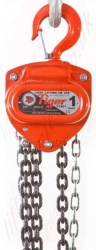 "Tiger ""TCB"" Manual Chain Hoist, Top Hook Suspended - Range from 500kg to 30 tonnes"