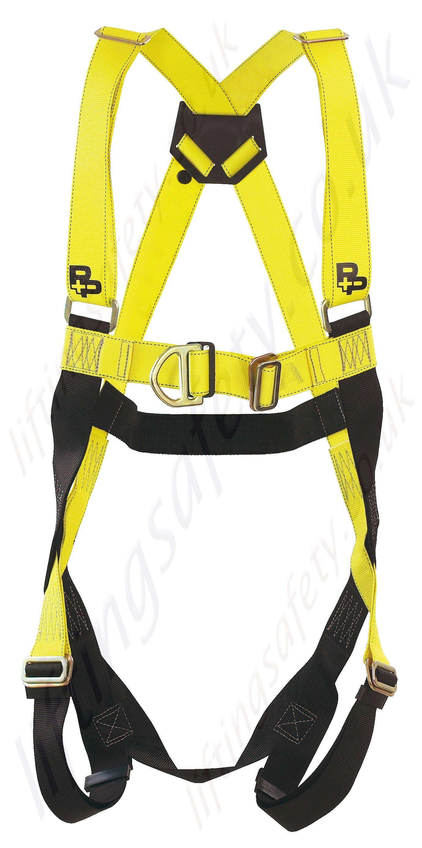 p p safety 2020 two point fall arrest harness with front. Black Bedroom Furniture Sets. Home Design Ideas