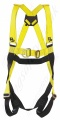 "P+P Safety ""2020"" Two Point Fall Arrest Harness with Front and Rear 'D' Rings Standard Release Leg Buckles."