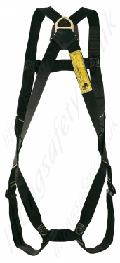 Pp Black Harness Rear View