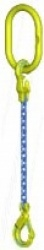 "Gunnebo ""GrabiQ TG1-GBK"" Single Leg Chain Slings with Master Link (top link) ""MF and GBK Safety Hook"" Range from 1.5 to 16t"