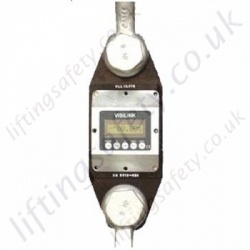 LiftingSafety Digital Load Cell with on-board LCD Display (optional remote control) - Range from 5000kg to 300,000kg