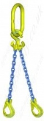 "Gunnebo GrabiQ ""TG2-EGKN"" Twin Leg Chain Sling ""Master Link MF and EGKN Sling Hook"" Range from 1.5t to 22.4t"