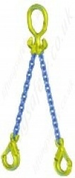 "Gunnebo CrabiQ ""MG2-GBK"" Twin Leg Chain Sling ""Master Link MGD and GBK Safety Hook"" Range from 1.5t to 14t"