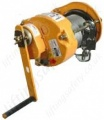 Ridgegear RGR7 Man-riding Hand Operated Wire Rope Winch (Lift Hoist) 200kg Manriding Wire Rope Length 50m