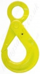 "Gunnebo ""GrabiQ BK Safety Sling Hook"" with Recessed Trigger. Range from 1.5t to 16t"