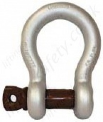 Gunnebo (854) Screw Pin Lifting Anchor Bow Shackle (Omega Shackles) - Range From 330kg - 55,000kg