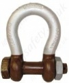 Gunnebo (856) Arctic / Polar Bolt Type Lifting Anchor Bow Shackle (Omega Shackles) - Range From 2000kg - 85,000kg