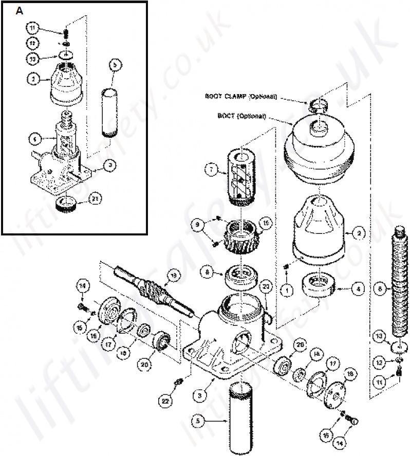 Translating Ball Screw Actuator Parts List: Duff Norton Wiring Diagram For At Ultimateadsites.com