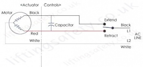 HSPB 250lb Series Wire Diagram