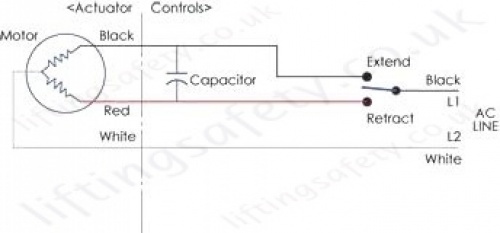 SPB 500lb Series Wire Diagram