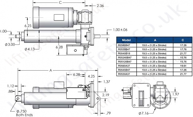 SCW05 Series Parallel Motor Diagram