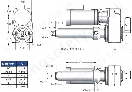 SCN06 Series Parallel Motor Diagram