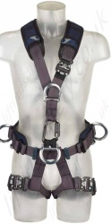 "Sala ""Exofit Nex"" Rope Access Suspension Fall Arrest Harness with Front and Rear 'D' Rings & Work Positioning Belt"