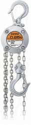 Kito CX Manual Chain Hoist, Top Hook Suspended - 250kg