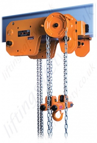 shb low headroom chain hoist kito \
