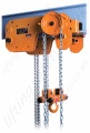"Kito ""SHB Series"" Ultra-Low Headroom Manual Chain Hoist - Range 1000kg to 10000kg"