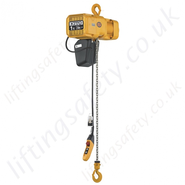 """Electric Chain Hoist With Hook: Kito """"ER2 Series"""" Heavy Duty Electric Chain Hoist"""