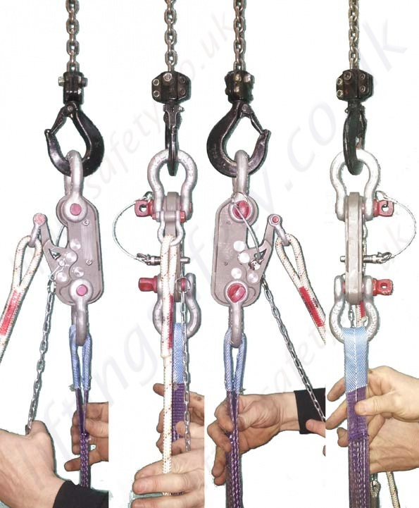 360 View Spring Safety Pin Reverse Lever