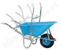 Hoisting Wheelbarrow, Lifting Hoist Mounted, 200kg capacity
