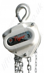 "Tiger ""SS12"" Sub-sea (Underwater) Corrosion Resistant Chain Block. Range from 500kg to 20,000kg"