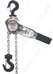 "Gunnebo ""LiftiQ Series"" Lever Hoist Range from 250kg to 9,000kg"