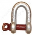 "Gunnebo ""834"" Screw-Pin Safety ""D"" (Dee) Shackle Range 500kg to 35,000kg"