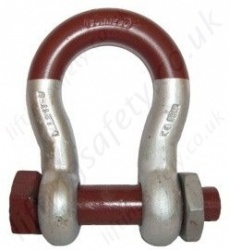 "Gunnebo ""858 Super Shackle"" Bow Shackle Range 3,300kg to 150,000kg"